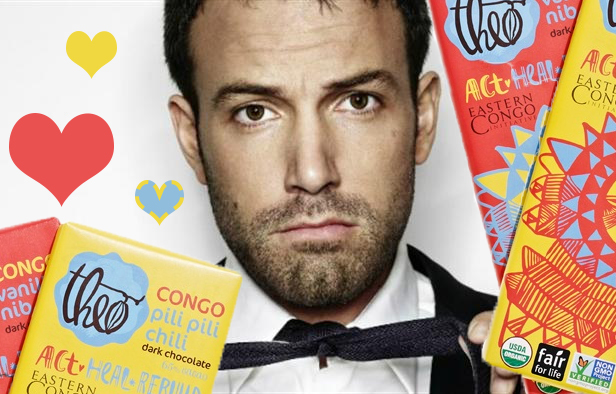 Celebrating Valentine's Day with Ben Affleck and Theo Chocolate | Fair Trade Gifts