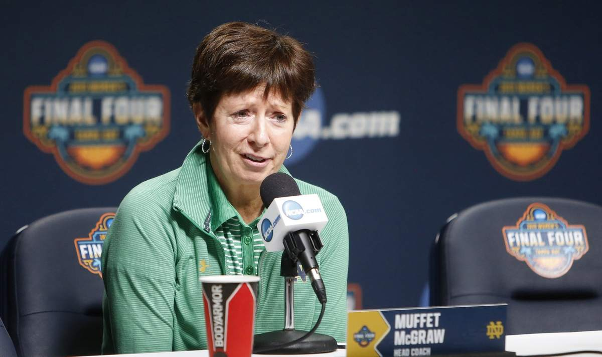 Creating a special recognition gift for Notre Dame Women's Basketball